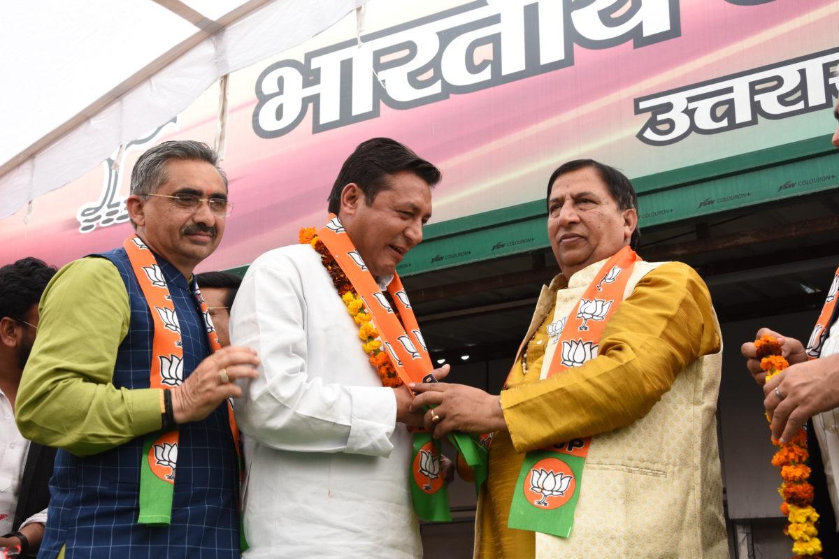 ओम गोपाल की भाजपा में धमाकेदार वापसी, सीएम त्रिवेंद्र ने जाहिर की खुशी