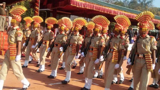 श्रीनगर (गढ़वाल): देश सेवा को समर्पित हुए एसएसबी के 152 प्रशिक्षु उपनीरिक्षक