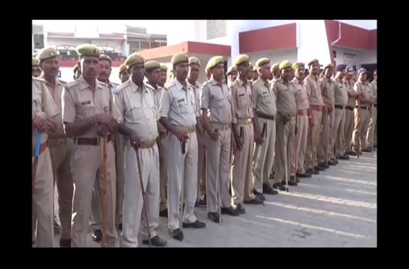 हरिद्वार:  चुनाव के लिए पुलिस प्रशासन की मुस्तैदी