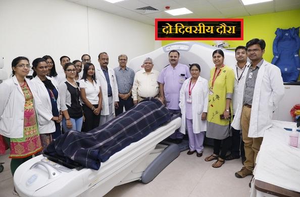 डॉ. धर्मेंद्र सिंह गंगवार ने किया एम्स ऋषिकेश का दो दिवसीय दौरा