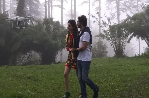 धनोल्टी में हिंदी फिल्म बिटिया की शूटिंग