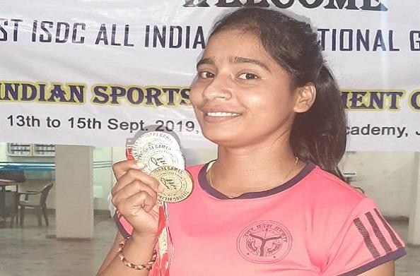 बाराबंकी की बेटी नेहा सिंह ने जीत गोल्ड मेडल