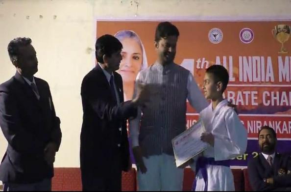 ऑल इंडिया कराटे प्रतियोगिता संपन्न… 12 राज्यों के खिलाड़ियों ने किया प्रतिभाग