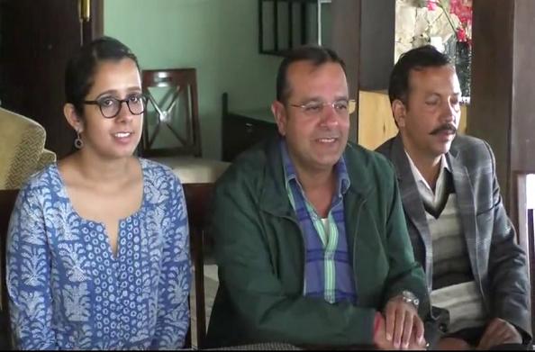 स्वच्छता के लिए बैठक… नेहा जोशी ने की पत्रकारों से बातचीत