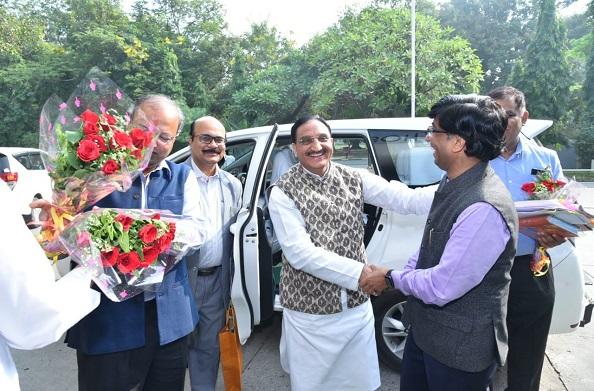 केंद्रीय HRD मंत्री डाॅ निशंक ने IIT कानपुर के कार्यक्रम में की शिरकत