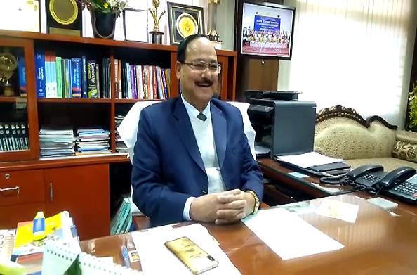 श्रीदेव सुमन विवि के नव नियुक्त कुलपति डा. पीपी ध्यानी ने ग्रहण किया कार्यभार
