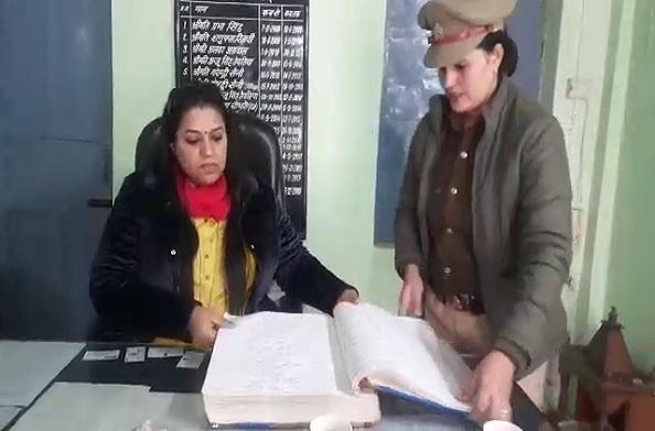 गाजियाबाद: महिला आयोग की उपाध्यक्ष ने किया महिला थाने का निरीक्षण