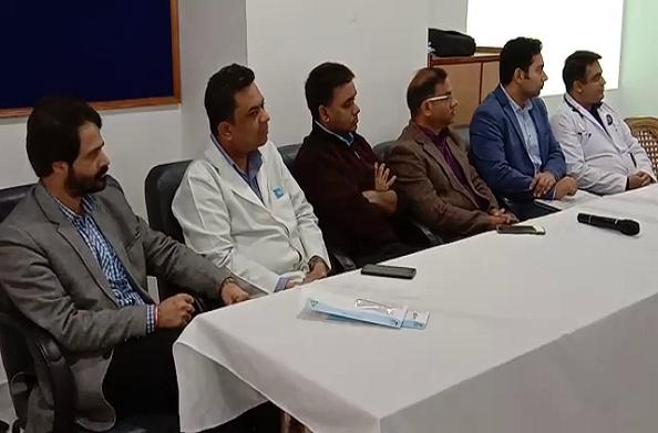 देहरादून: कैलाश अस्पताल की प्रेस वार्ता… जन्मजात हृदय रोगों के बारे में दी जानकारी