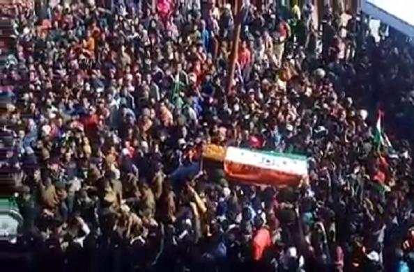 शहीद राहुल अमर रहे… इन नारों से चंपावत गूंज रहा है….