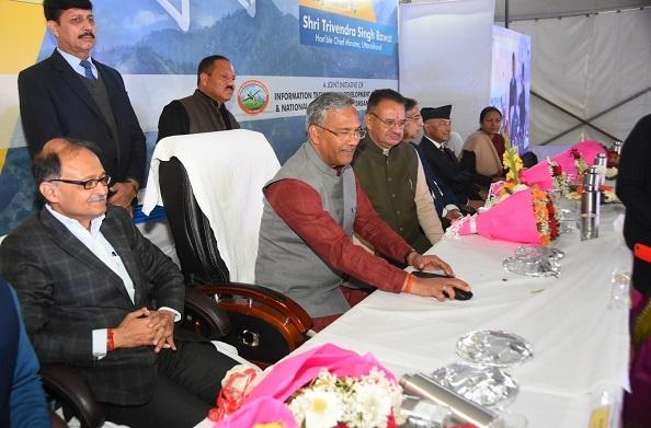 सीएम रावत ने किया 'इण्डिया ड्रोन फेस्टिवल-2.0' का शुभारम्भ