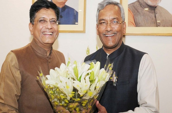 रेल मंत्री पीयूष गोयल ने दिल्ली से देहरादून के लिए तेजस ट्रेन को दी स्वीकृति
