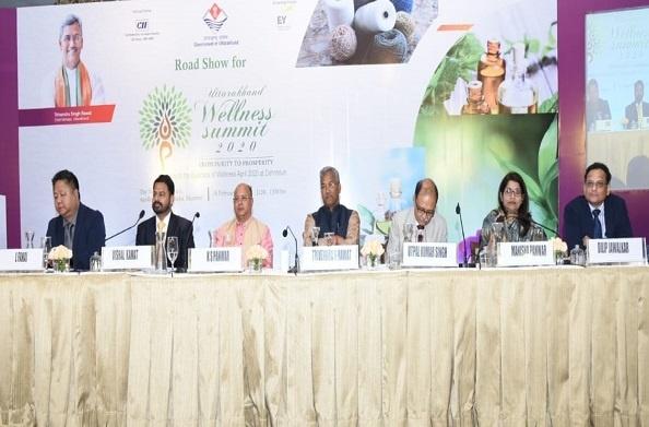 उत्तराखण्ड वैलनेस समिट-2020 के लिए सीएम रावत ने मुंबई में आयोजित रोड शो में किया प्रतिभाग