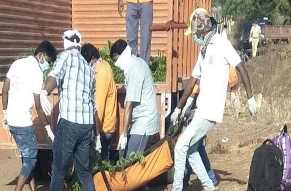 महाराष्ट्र: औरंगाबाद में दिल दहलाने वाली घटना… मालगाड़ी ने घर लौट रहे मजदूरों को रौंदा… 16 की मौत