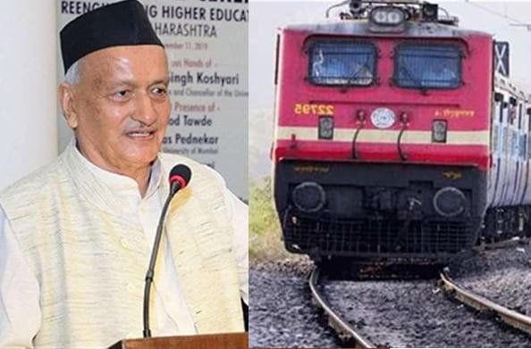 मुंबई के प्रवासी संगठनों की राज्यपाल भगत सिंह कोश्यारी से मांग, 5 हजार उत्तराखंडियों के लिए चलाई जाए ट्रेन