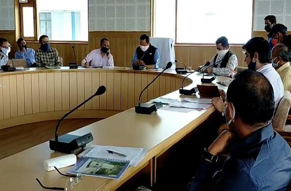 पौड़ी: मानसून से पहले डीएम ने ली आपदा प्रबंधन की बैठक