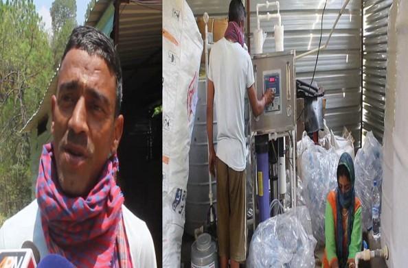 रुद्रप्रयाग: स्वरोजगार की मिसाल बने अरूण चमोला… वाटर प्लांट से लोगों को भी दिया रोजगार