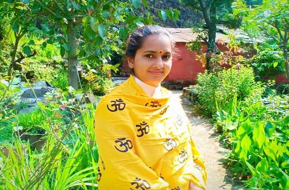 विश्व में भक्ति और शांति का संदेश दे रही हैं देवभूमि उत्तराखंड की बेटी राधिका जी केदारखंडी