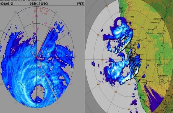 दोपहर के बाद महराष्ट्र तक पहुंच सकता है निसर्ग तूफान… एनडीआरएफ की टीमें तैनात