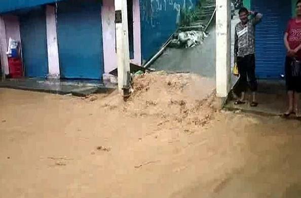 बागेश्वर: जिले में मूसलाधार बारिश… नदी-नाले उफान पर