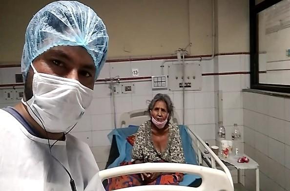 कोरोनामहामारीसेसंक्रमितमरीजबनाकोरोनायोद्धा, अब किया प्लाज्मा दान