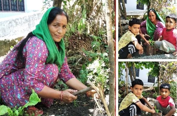 धनोल्टी: एकल अभियान संगठन के द्वारा टिहरी के 180 एकल गांव में किया गया पौधरोपण