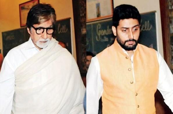 बॉलीवुड के महानायक अमिताभ बच्चन और उनके बेटे अभिनेता अभिषेक बच्चन शनिवार को कोरोना संक्रमित पाए गए