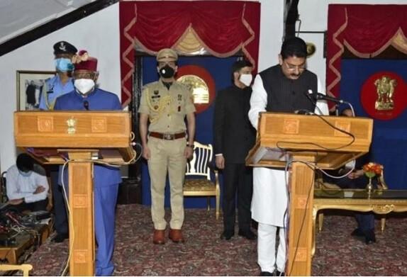 राजभवन में हुआ शपथ ग्रहण समारोह,जयराम सरकार में बने तीन नए मंत्री