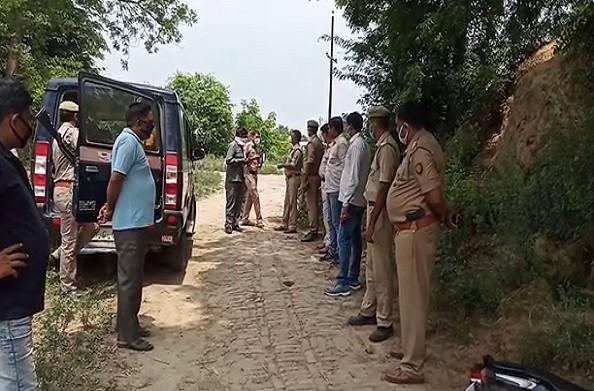 हापुड़: बदमाशों और पुलिस के बीच मुठभेड़, दोनों बदमाश गिरफ्तार