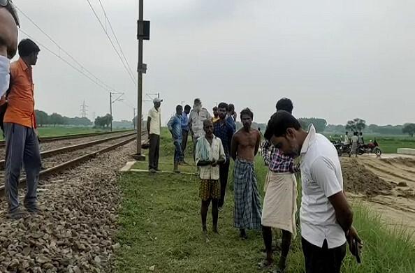 कौशांबी: रेलवे ट्रैक पर 2 शव मिलने से हड़कंप, हत्या कर शव फेंके जाने की आशंका