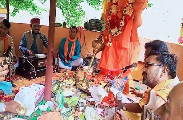 चमोली: राम जन्म भूमि पूजन पर सुंदरकांड का पाठ, जिले में लोग मना रहे खुशी
