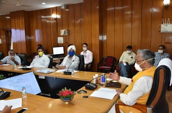 सीएम रावत ने की खरीफ खरीद सत्र 2020-21 की समीक्षा, अधिकारियों को दिए निर्देश