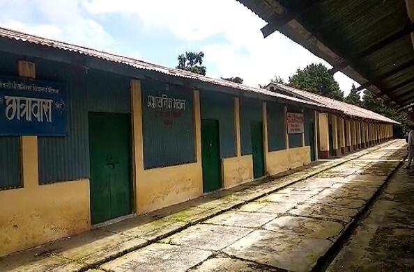 राजीव गांधी अभिनव विद्यालय बेरीनाग में अभी भी शुरू नहीं हुए एडमिशन