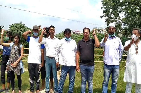 हरिद्वार: कांग्रेस सेवादल का केंद्र सरकार के खिलाफ प्रदर्शन, नई शिक्षा नीति का किया विरोध