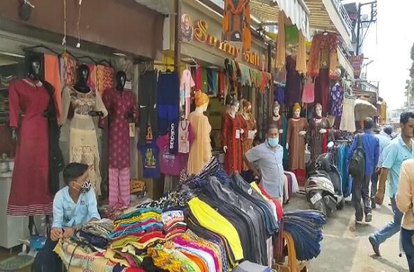 हल्द्वानी: कोरोना काल में व्यापार चौपट, काम न चलने से व्यापारी परेशान