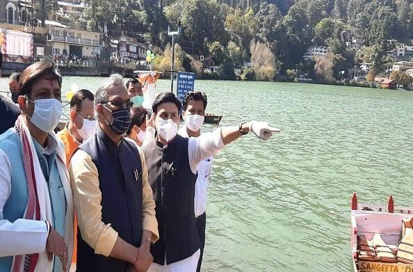 मुख्यमंत्री ने किया दिव्य नैनीझील जल गुणवत्ता आंकलन प्रणाली का लोकर्पण