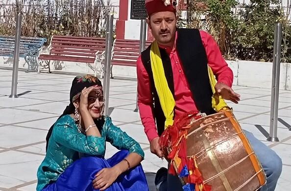 स्वागत फिल्म्स के बैनर तले उत्तराखंड की लोक संस्कृति को लेकर छठ गीत किया गया शूट