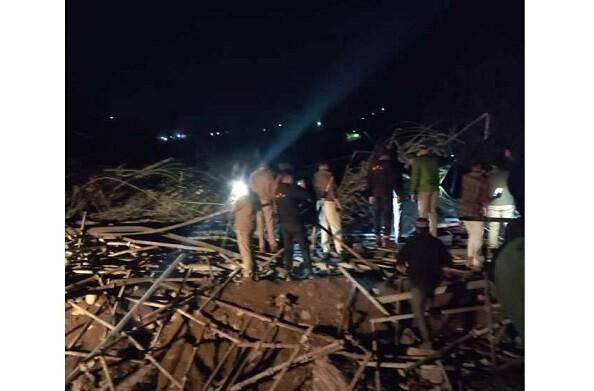 ऑल वेदर प्रोजेक्ट: निर्माणाधीन पुल ढहा, 1 की मौत, 12 घायल, CM ने दिए जांच के आदेश