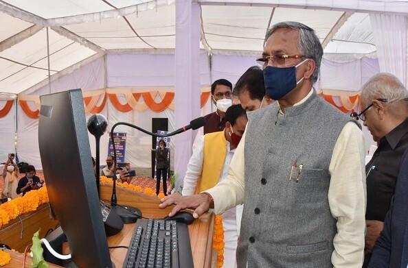 महाविद्यालयों-विश्वविद्यालयों को मिलेगी हाई स्पीड इंटरनेट कनेक्टिविटी: CM त्रिवेंद्र