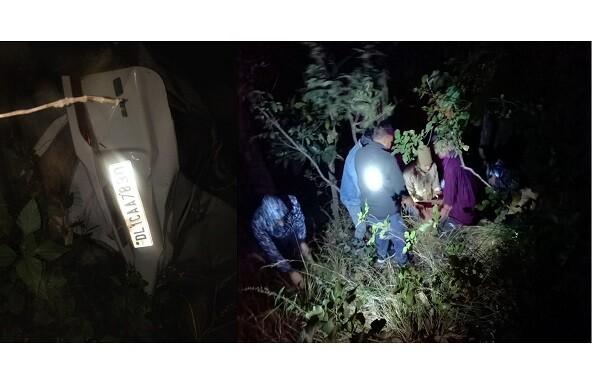 कोटद्वार राष्ट्रीय राजमार्ग 534 पर भीषण हादसा, एक की मौत