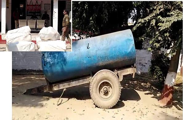 फतेहपुर: 5 क्विंटल से ज्यादा गांजे के साथ 2 तस्कर गिरफ्तार