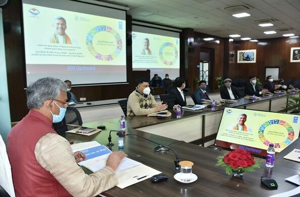 2030 तक सतत विकास के लिए तेजी से हों प्रयास: मुख्यमंत्री त्रिवेंद्र