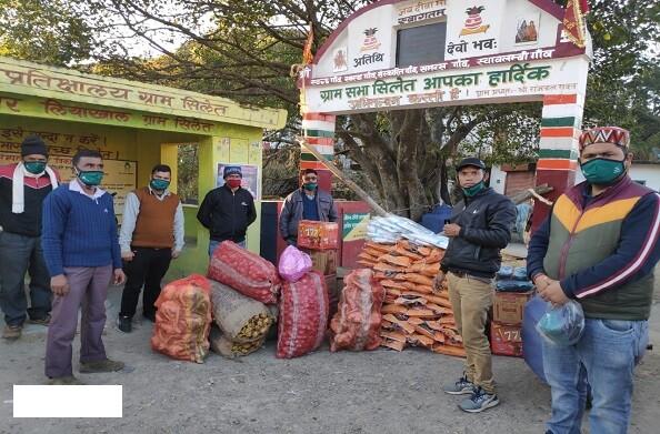 सिलेथ गांव के लिए मददगार बना हंस फाउंडेशन, गांव के 89 लोग हैं कोरोना पाॅजिटिव
