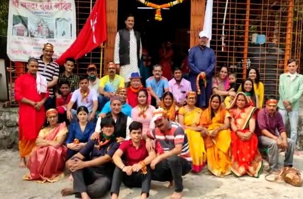 मुंबईः देवभूमि लोक कला उद्गम ट्रस्ट ने नंदा देवी मंदिर में किया महायज्ञ