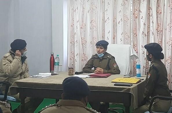 टिहरी जिले की नई एसएसपी तृप्ति भट्ट ने संभाला कार्यभार