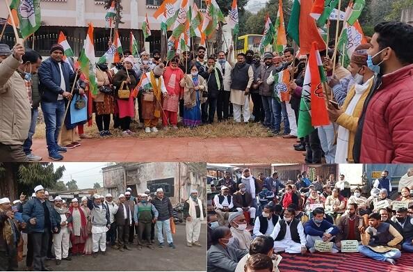 टिहरी, हरिद्वार और कोटद्वार में मनाया गया कांग्रेस का स्थापना दिवस