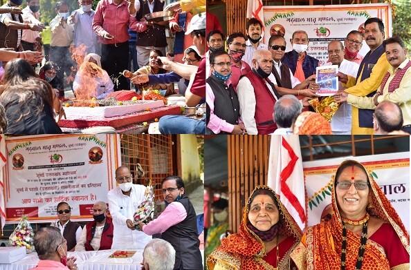 मुंबई में सीबीडी बेलापुर स्थित माँ नंदा देवी के मंदिर में गढ़वाल भ्रातृ मंडल ने मनाया 92वां वार्षिक समारोह