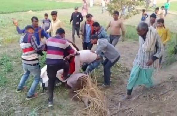 बलिया: गांव में हो रहे कामों की शिकायत पर, जांच टीम की मौजूदगी में ही ग्राम प्राधान प्रतिनिधि ने शिकायतकर्ता को पीटा