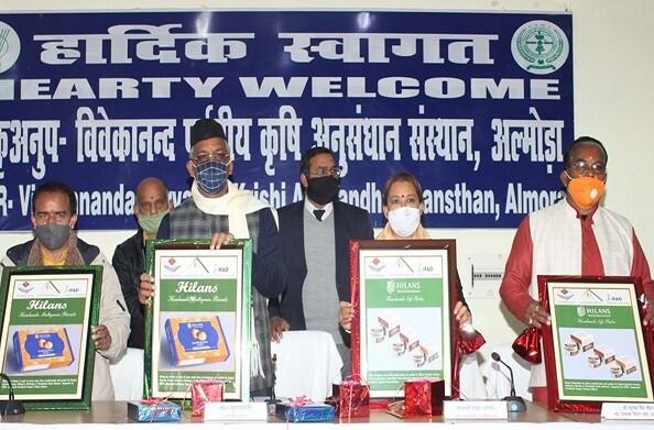 अल्मोड़ा पहुंचे मुख्यमंत्री त्रिवेन्द्र सिंह रावत ने विवेकानन्द पर्वतीय कृषि अनुसंधान संस्थान में अधिकारियों के साथ की बैठक