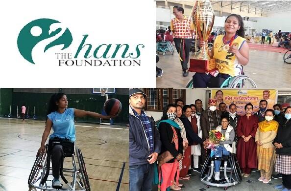 हंस फाउंडेशन का तोहफा: पैरालंपिकखिलाड़ीसाक्षी चौहानको माता मंगला और भोले महाराज ने प्रदान कीस्पोर्ट्स व्हीलचेयर