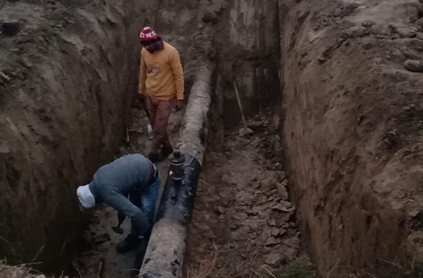 कौशांबी- इंडियन ऑयल की भूमिगत पाइप लाइन तोड़कर 12 हजार लीटर डीजल चोरी